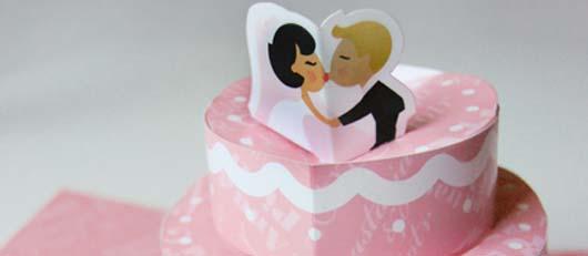 Tarjeta Torta