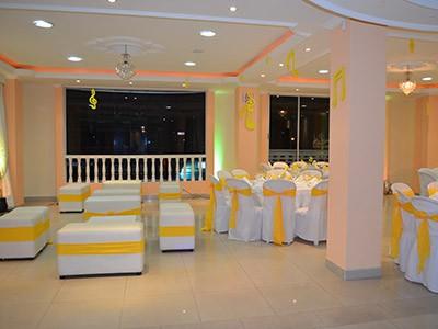 Salón de recepciones en Bogotá