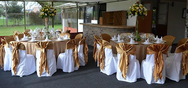 decoración bodas de oro